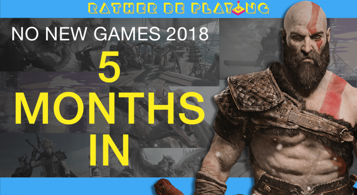 No New Games 2018: 5 Months In - God of War, Celeste, Shadow of the Colossus, Spider-Man, Monster Hunter World, Sea of Thieves, Dissidia Final Fantasy NT